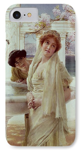A Difference Of Opinion Phone Case by Sir Lawrence Alma-Tadema