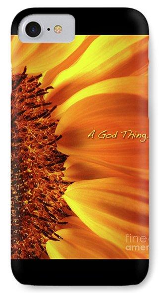 A God Thing-2 Phone Case by Shevon Johnson