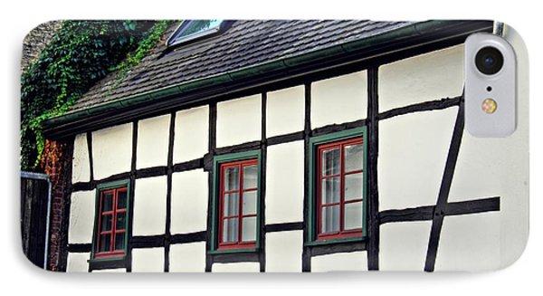 A House In Biebrich IPhone Case by Sarah Loft