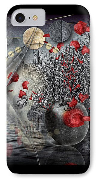 A Little Bit Of Death Between The Worlds IPhone Case by Mimulux patricia no
