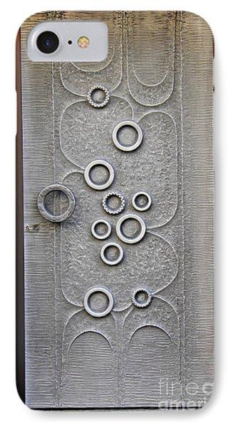 A Modern Door In Mainz IPhone Case by Sarah Loft