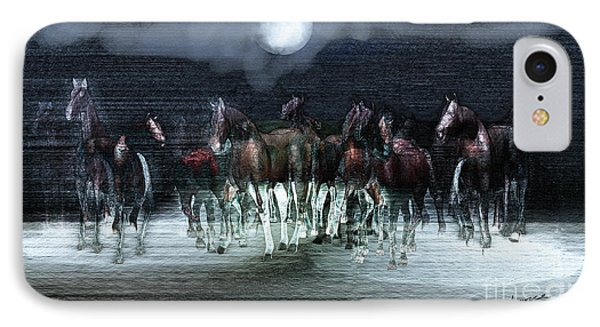 A Night Of Wild Horses Digital Art By Lance Sheridan Peel