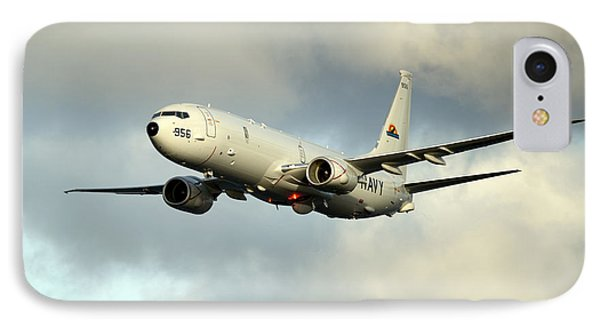 A P-8a Poseidon Conducts Flyovers IPhone Case by Celestial Images
