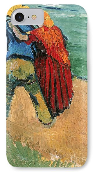 A Pair Of Lovers IPhone Case by Vincent Van Gogh