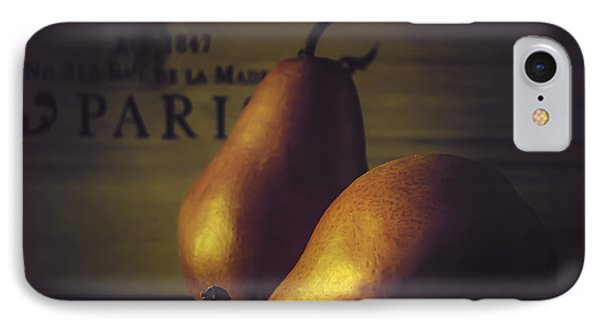 A Pair Of Pears IPhone Case by Julie Palencia