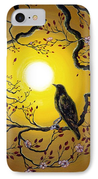 A Raven Remembers Spring Phone Case by Laura Iverson