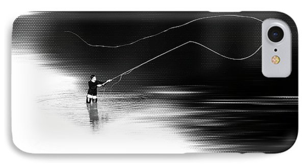 A River Runs Through It Phone Case by Hannes Cmarits