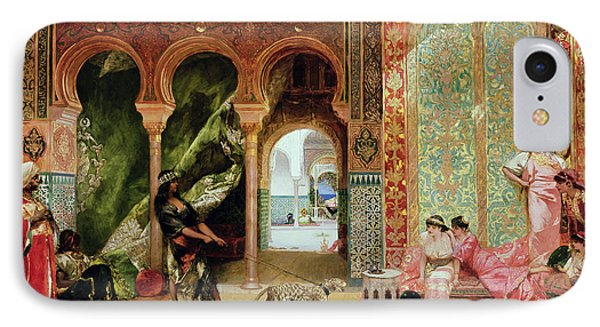 A Royal Palace In Morocco IPhone 7 Case by Benjamin Jean Joseph Constant