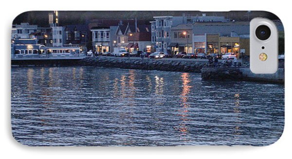 A Scenery Of Sausalito At Dusk IPhone Case by Hiroko Sakai