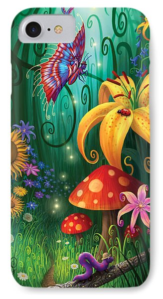 A Secret Place IPhone Case by Philip Straub