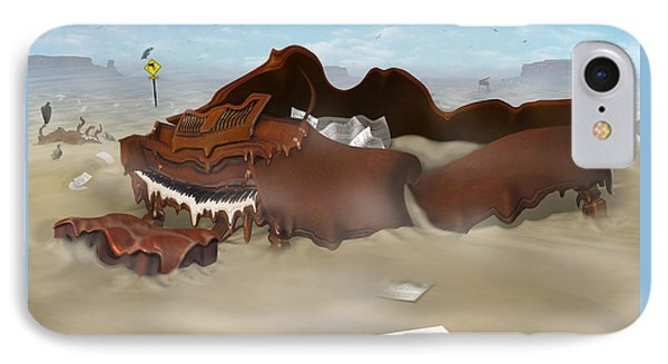 A Slow Death In Piano Valley Sq IPhone Case by Mike McGlothlen