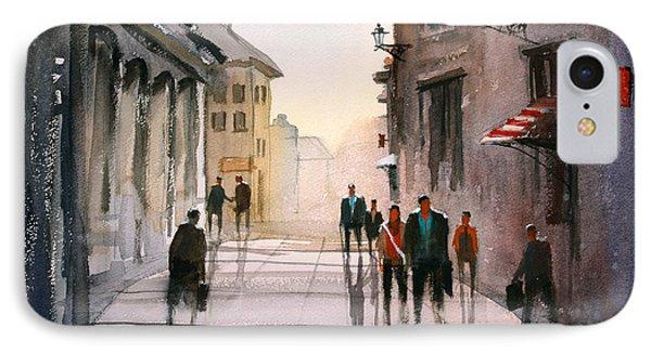 A Stroll In Italy Phone Case by Ryan Radke