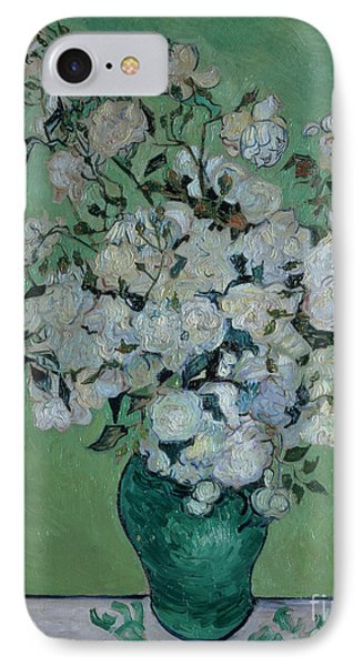 A Vase Of Roses Phone Case by Vincent van Gogh