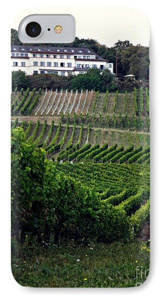 A Vineyard Above Rudesheim 1                       IPhone Case by Sarah Loft