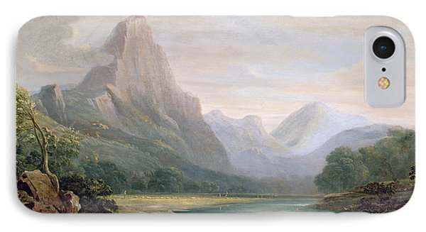 A Welsh Valley Phone Case by John Varley