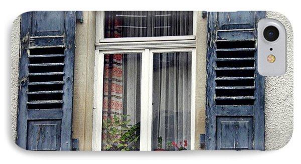 A Window In Schwaigern IPhone Case by Sarah Loft