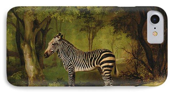 A Zebra Phone Case by George Stubbs
