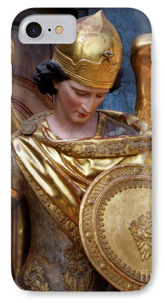 Archangel Michael IPhone Case by Lainie Wrightson
