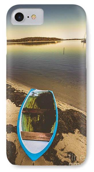 Abandoned Boat  IPhone Case by Jorgo Photography - Wall Art Gallery