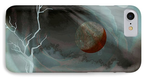 Abandoned In A Dying World IPhone Case by Darin Baker