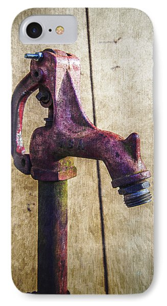 Abbott's Mill Water Spigot IPhone Case by Brian Wallace