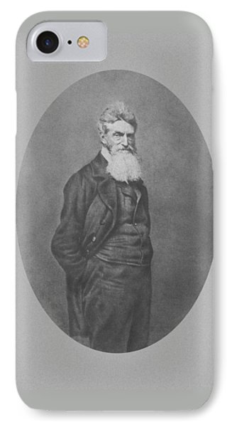 Abolitionist John Brown Phone Case by War Is Hell Store