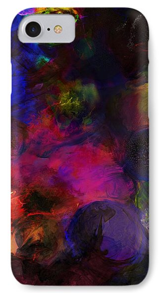Abstract 042711a Phone Case by David Lane