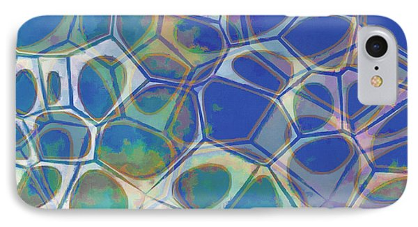 Abstract Cells 5 IPhone Case by Edward Fielding