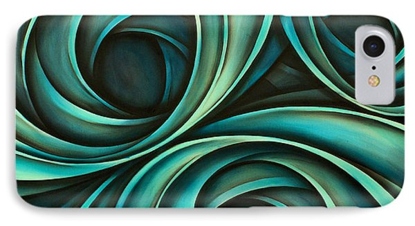 Abstract Design 33 Phone Case by Michael Lang