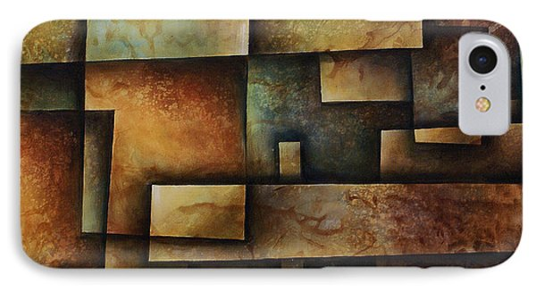 Abstract Design 9 Phone Case by Michael Lang