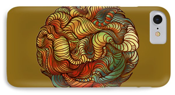 Abstract Forest Ball IPhone Case by Irina Effa