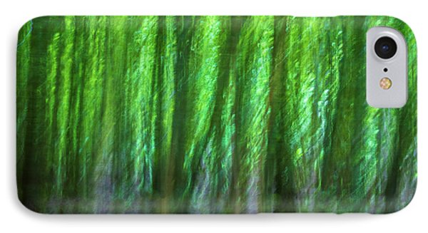 Abstract Forest IPhone Case by Martin Newman