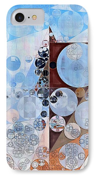 Abstract Painting - Espresso IPhone Case by Vitaliy Gladkiy