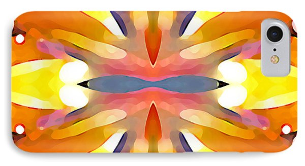 Abstract Paradise Phone Case by Amy Vangsgard