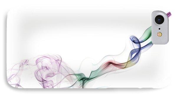 Abstract Smoke IPhone Case by Setsiri Silapasuwanchai