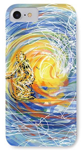 Abstract Surfer 41 IPhone Case by Robert Yaeger