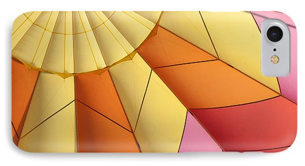 Abstract View Of Hot Air Balloon IPhone Case by Juli Scalzi