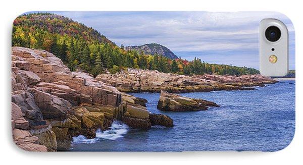 Acadia's Coast IPhone Case by Chad Dutson