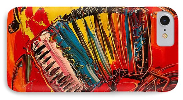Accordeon Phone Case by Mark Kazav