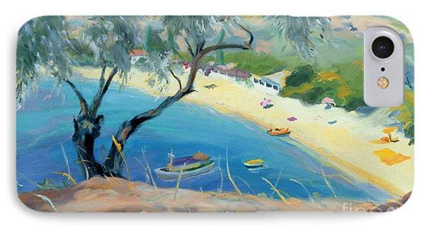 Achladies Bay - Skiathos - Greece Phone Case by Anne Durham