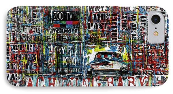 Achtung Baby IPhone 7 Case by Frank Van Meurs