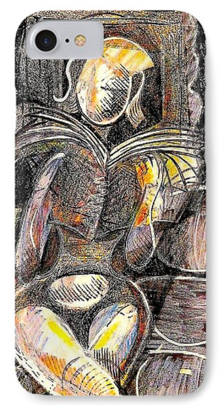 Across IPhone Case by Al Goldfarb