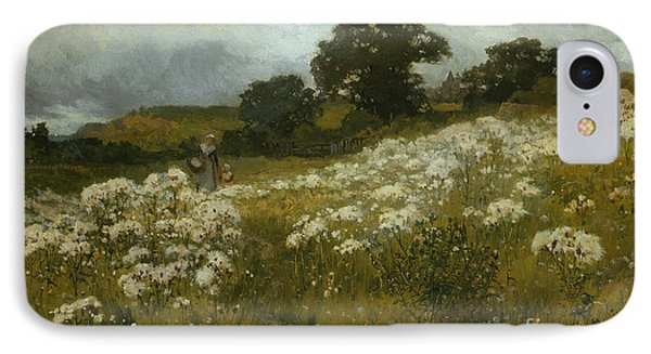 Across The Fields Phone Case by John Mallord Bromley