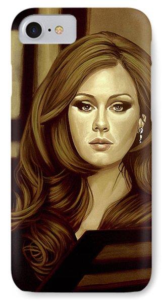 Adele Gold IPhone 7 Case by Paul Meijering