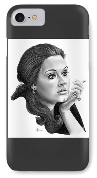 Adele IPhone Case by Murphy Elliott