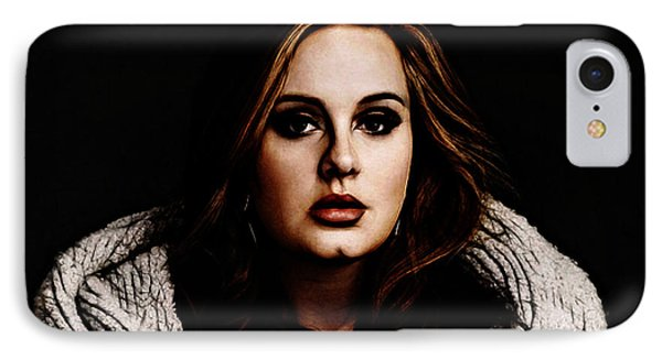 Adele IPhone Case by The DigArtisT