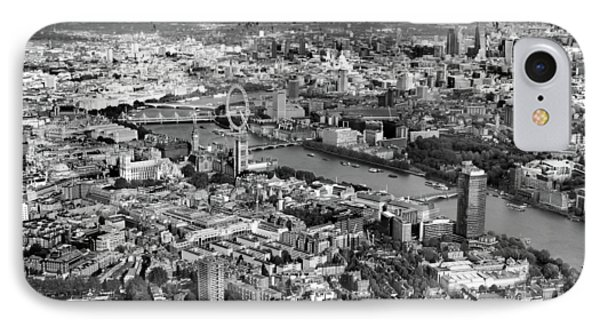 Aerial View Of London IPhone Case by Mark Rogan