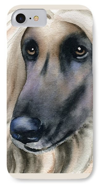 Afghan Hound IPhone Case by David Rogers