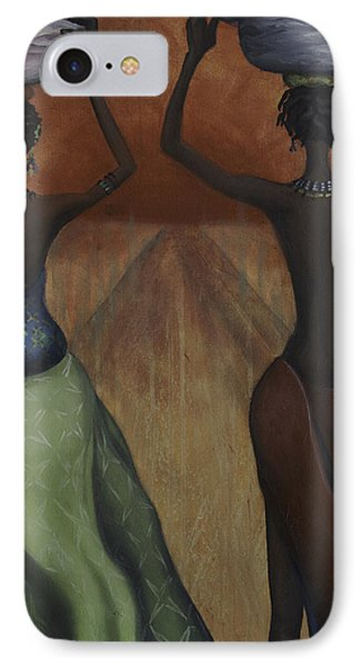 African Desires IPhone Case by Kelly Jade King