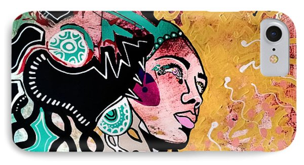 African Gypsy IPhone Case by Amy Sorrell
